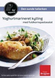 Yoghurtmarineret kylling - SuperBrugsen