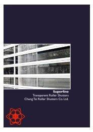 Superfine Transparent Roller Shutters Chung Tai Roller Shutters Co ...