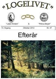 Logelivet oktober 2012 - Loge nr. 41 Petrus Beyer, 7700 Thisted