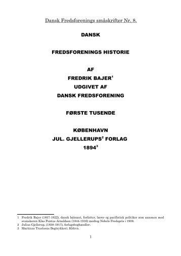dokument - Det danske Fredsakademi