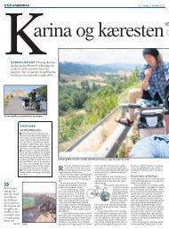 Karina og Kæresten Cykler Jorden Rundt - World Bikers
