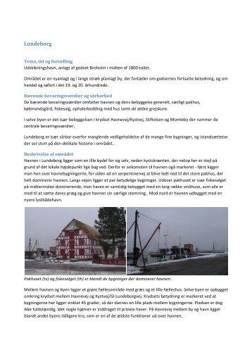 Lundeborg - Kulturarv Svendborg