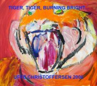 0. Tyger, tyger;;. Katalog - Uffe Christoffersen
