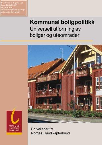 kommunal politikk - Handikapforbundet 2001.pdf - Ansatt.hig.no