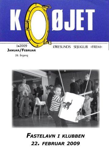 Nr. 1/2009 - Øresunds Sejlklub Frem