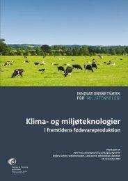 Klima- og miljøteknologier - Inno-MT