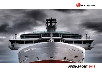 ÅRSRAPPORT 2011 - Hurtigruten