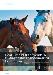 Real-Time PCRs anvendelse til diagnostik af endometritis - Elbo