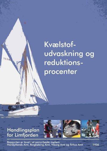 Kvælstofudvaskning og reduktionsprocenter - Limfjorden