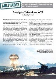 Aktuellt om militära händelser, vapen och förband • del 15 - Militärt