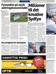 Millioner til det kreative Sydfyn - Fremtidsfabrikken