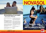 Salgs- og servicekoncepter - Novasol