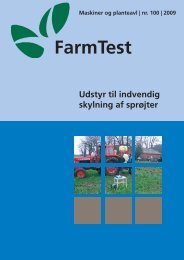 Udstyr til indvendig skylning af sprøjter - LandbrugsInfo