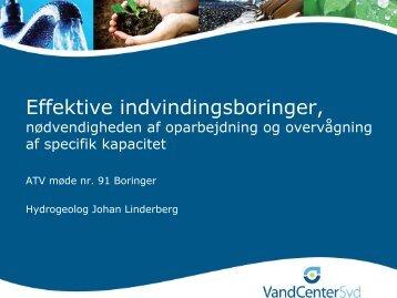 Johan Linderberg - ATV Jord og Grundvand