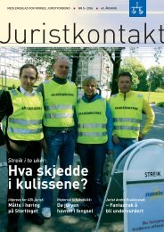 Juristkontakt 5 - 2006