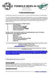 FODBOLD NEWS 44-10 - Fodbold FKBU