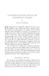 hornbækstrandingen og johannes ewald - Handels- og Søfartsmuseet