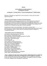 Referat stiftende generalforsamling 2010 - Frivilligcenter Gentofte