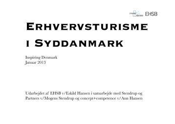 Erhvervsturisme i Syddanmark - Inspiring Denmark