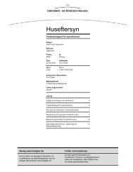 Huseftersyn - Ejendomsmæglerfirmaet John Frandsen
