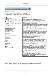 Rapporten som pdf uden bilag - GIS-Byggesag - Breddam.dk