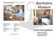 Se undervisnings katalog som PDF-fil til udskrift - Bornholms Museum