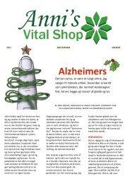 Alzheimers - Annis Vital Shop