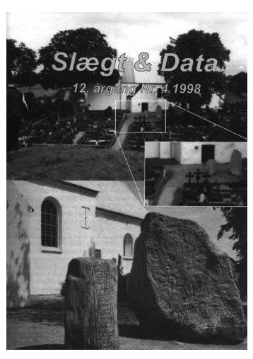slægt & data 4 1998 - DIS-Danmark