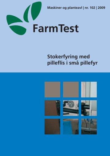 Stokerfyring med pilleflis i små pillefyr - LandbrugsInfo