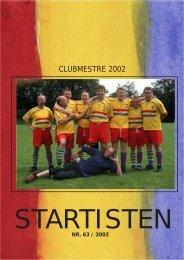 Startisten nr 63 (1,5 Mbyte). - Holte Star Club