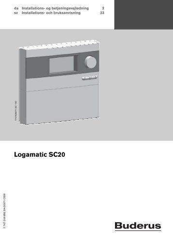 2. Logamatic SC20 regulering.pdf - Buderus