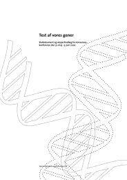 Test af vores gener - Teknologirådet