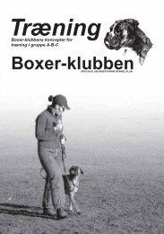 Boxer-klubbens træningskoncepter