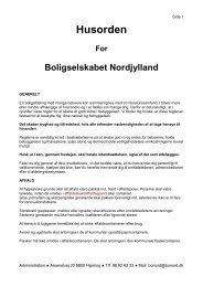 Husorden - Boligselskabet Nordjylland