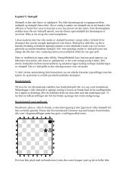 Kapittel 5: Sluttspill