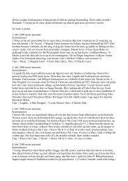 Læs Lundens kommentarer (og tips) til løbene på ... - plussiden.dk