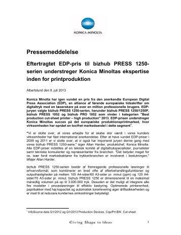 Press release - IKA.dk