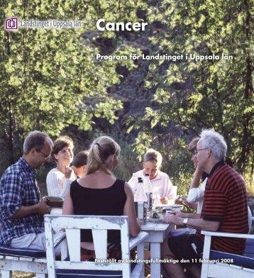 Cancer (2008) - Landstinget i Uppsala län