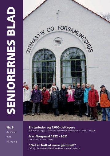 Seniorernes Blad nr. 6 2011 - Pensionisternes Samvirke