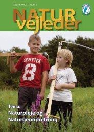 Naturpleje og Naturgenopretning - Naturvejlederforeningen i Danmark