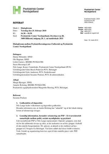 2010-02-25 - Region Hovedstadens Psykiatri