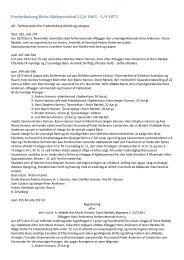 Skiftet efter Ane Marie Hansdatter findes i skifteprotokollen