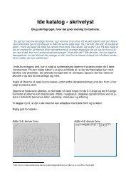 Temabrev 14, Idekatalog (pdf 2 MB) - Aarhus.dk