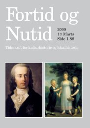 Nr. 1/2000 - Kulturstudier