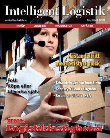 Logistikfastigheter - Intelligent Logistik