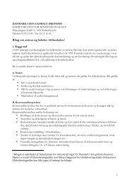 Bilag om ansvar og ledelse i folkeskolen1