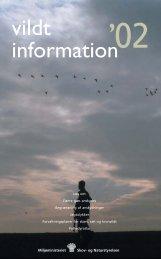 Vildtinformation 2002 - Naturstyrelsen