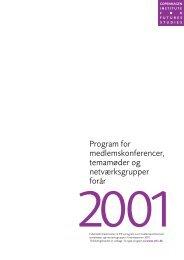 programmet i pdf-format - Instituttet for Fremtidsforskning