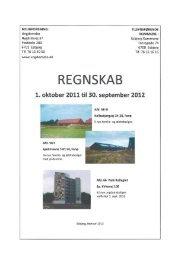 Foreningsregnskab 2011/12 - Boligforeningen Ungdomsbo