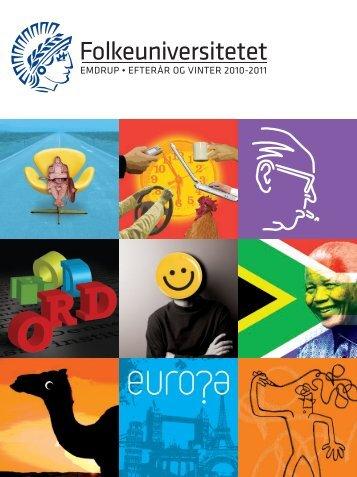 Folkeuniversitetet. Program for Sydafrikaforedragsrække, Emdrup ...